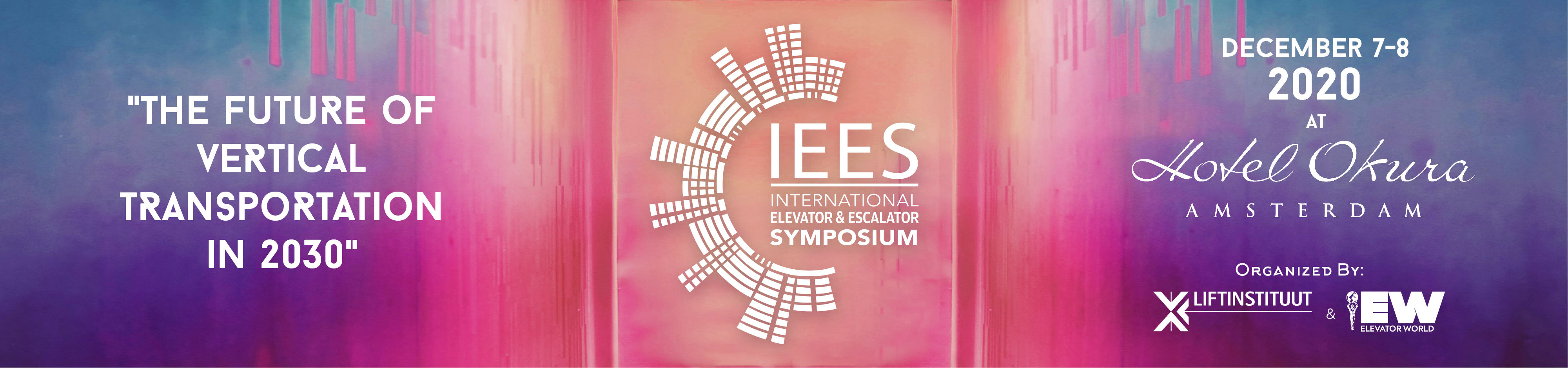 IEES International Elevator & Escalator Symposium 2020