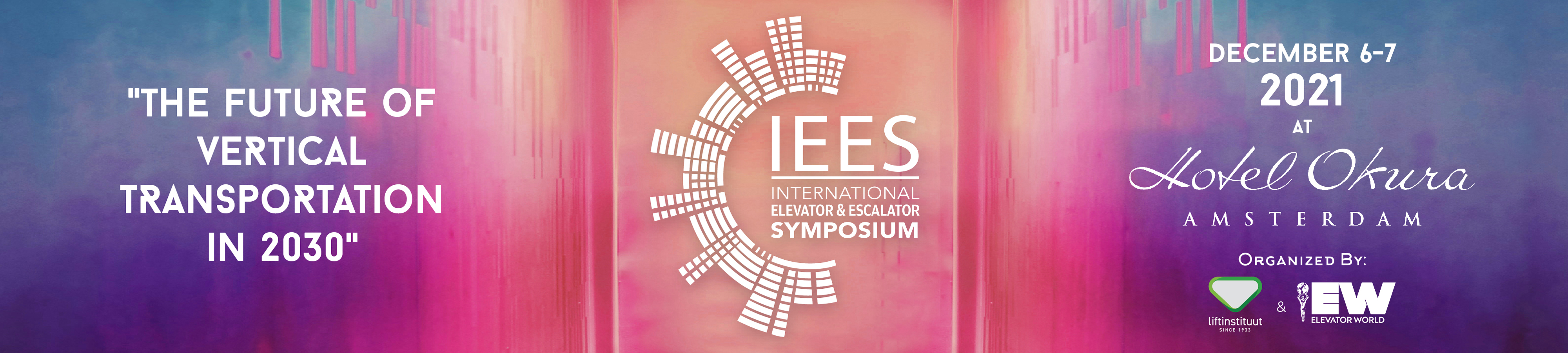 IEES International Elevator & Escalator Symposium 2021